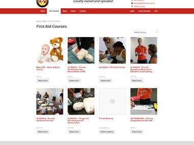 Website - Safety First Aid