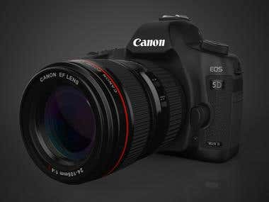 Digital SLR Camera - CANON 5D Mark II