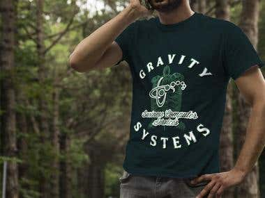 Gravity Systems T-shirt Design