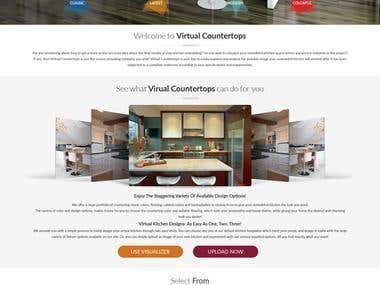 Virtual Counter Top