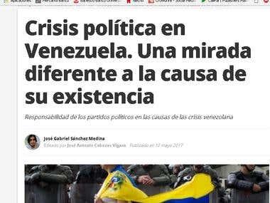 Artículo redactado en web: BlastingNews España