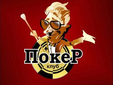 Logo of poker club
