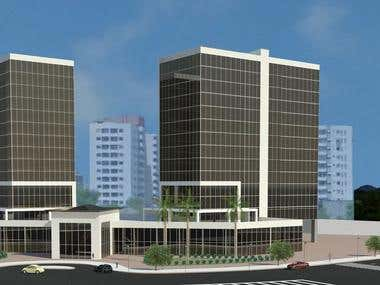 Comercial Building Barra da Tijuca RJ - Brazil