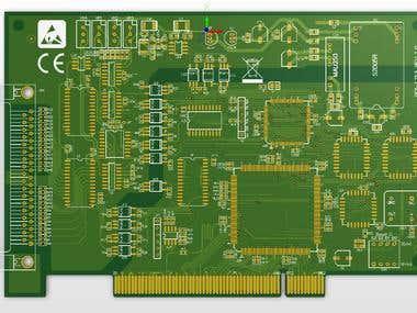PIC1713 circuit & PCB & CPLD design