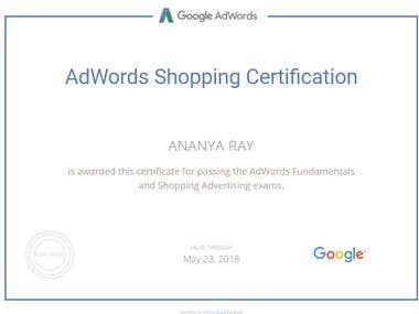 Shopping Certification