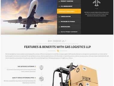 Logistic Services Website Development