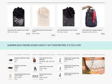 Online Store UNDEROURSKY
