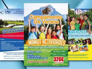 Flyer, Poster, Brochure