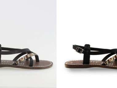 Photoshop Retouching Footwear Image