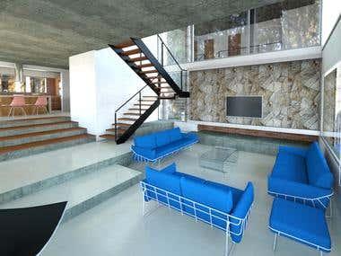 House Mar de las Pampas - Villa Gesell - Bs. As.- Argentina
