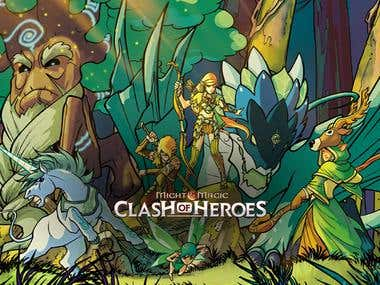 M&M Clash of Heroes