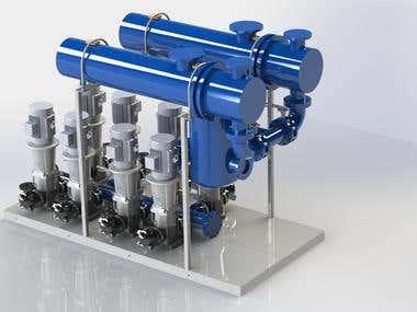 8 Pump Heater system