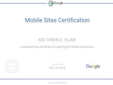 Adwords Mobile Site Certification