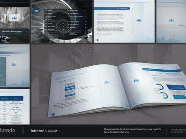 Report, Print Design