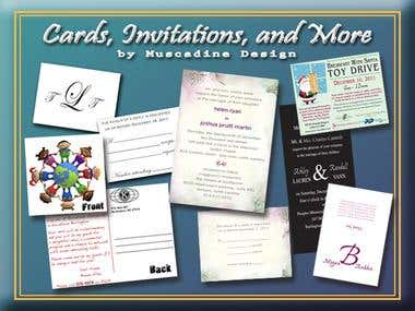 Invitation & Card Design