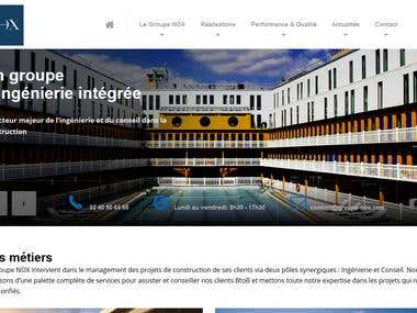 WordPress Site - NOX Group