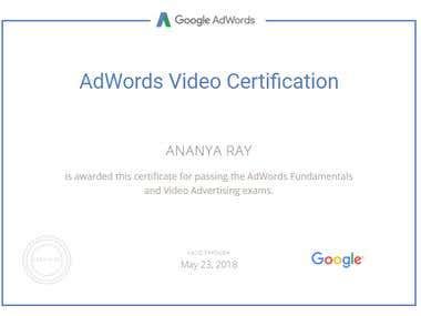 Vedio Certification