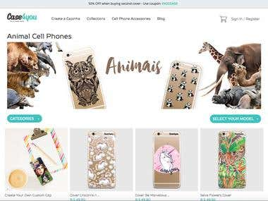 Online Shopping Site (AngularJS + PHP + MySQL)