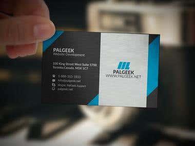 PalGek Company Card