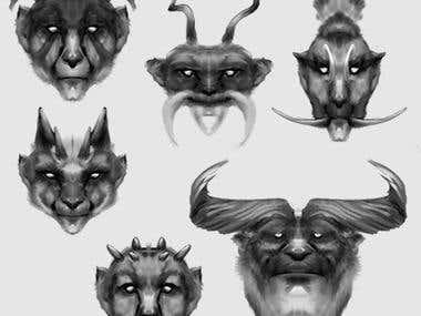 head art