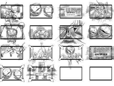 Storyboard for Apophenia 85:86