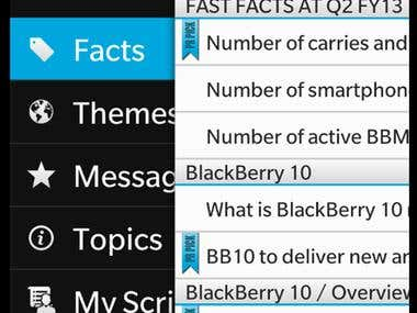 Corporate PR Public Relationships for BlackBerry Limited