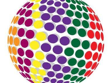 Dotted 3D Ball
