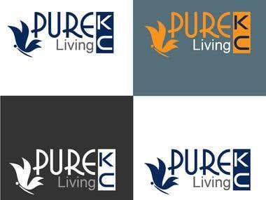 Design a Logo Pure Living KC
