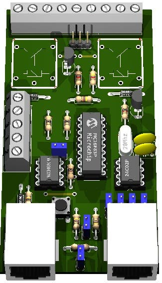 Control Rs232/rs485