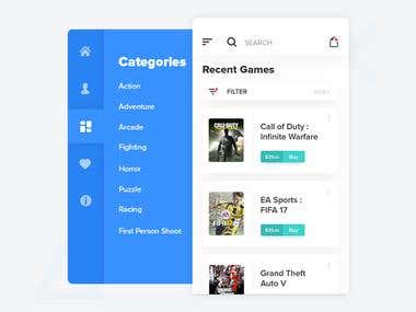 Gamereef - Game Store App