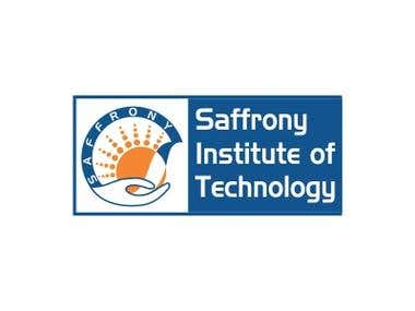 logo design for saffrony institute of technology