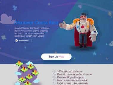 Fantasy Word Game Platform UI UX design / Costa Rica Startup