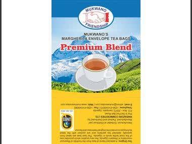 mukwano tea bag pouch bag packaging design