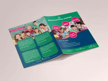 Double sided Creative Flyer