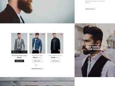 Bearst - fashion web-site design