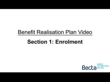 Benefit Realisation Plan - Becta