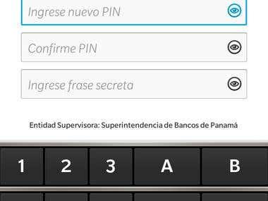 Llave móvil del Banco Caja de Ahorros de Panamá