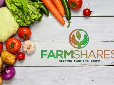 Farm Shares Logo Design