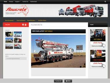 Flowcrete - Wordpress