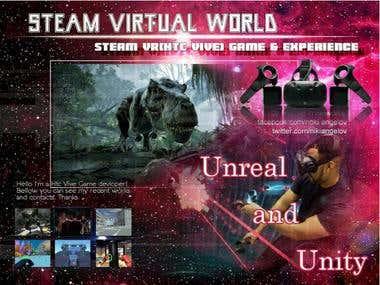 Unity3D -- 3D VR World App