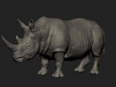 Rhino 3d scupt