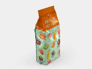Dry fruit packet