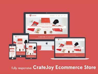 Cratejoy Ecommerce Store