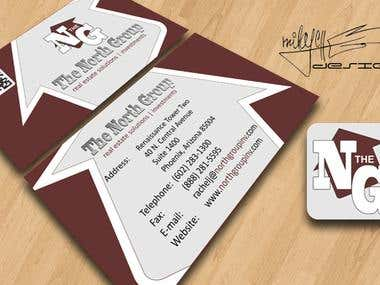 The North Group business card
