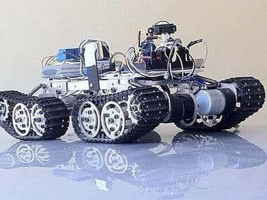 Differential GPS Navigation based Autonomous Robot
