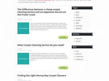 Hervey Bay Carpet Cleaning - http://carpetcleaningherveybay.