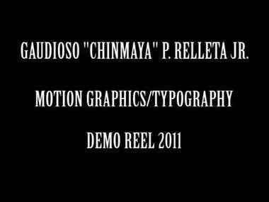 CHINMAYA DEMO REEL