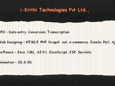 i-Krithi Services