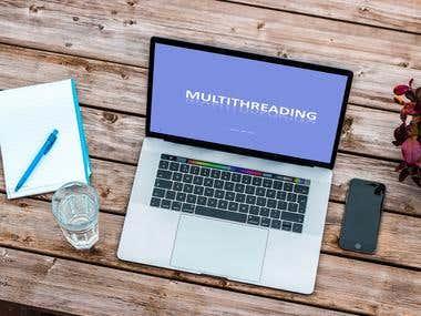 Multi-threading & chip multiprocessors presentation