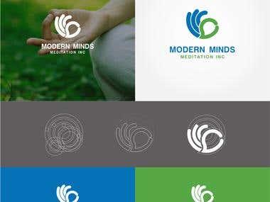 Design a Logo Modern Minds Meditation Inc